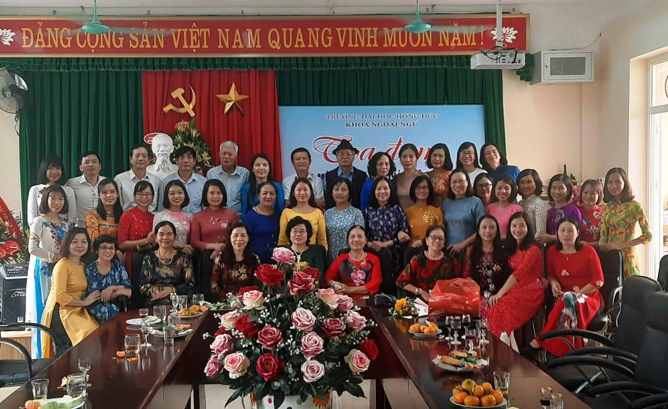 Khoa Ngoại Ngữ tưng bừng kỷ niệm ngày hiến chương Nhà Giáo Việt Nam 20/11/2020